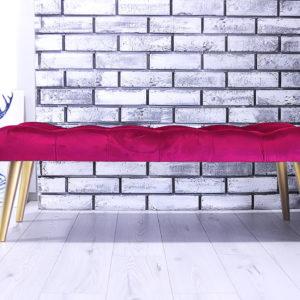 ławeczka tapicerowana
